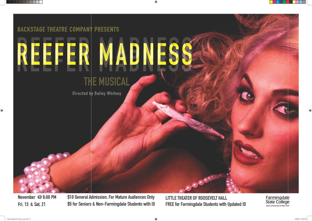 Image for Reefer Madness:  The Musical 11/19-21.