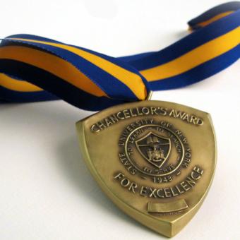 chancellor's award medal