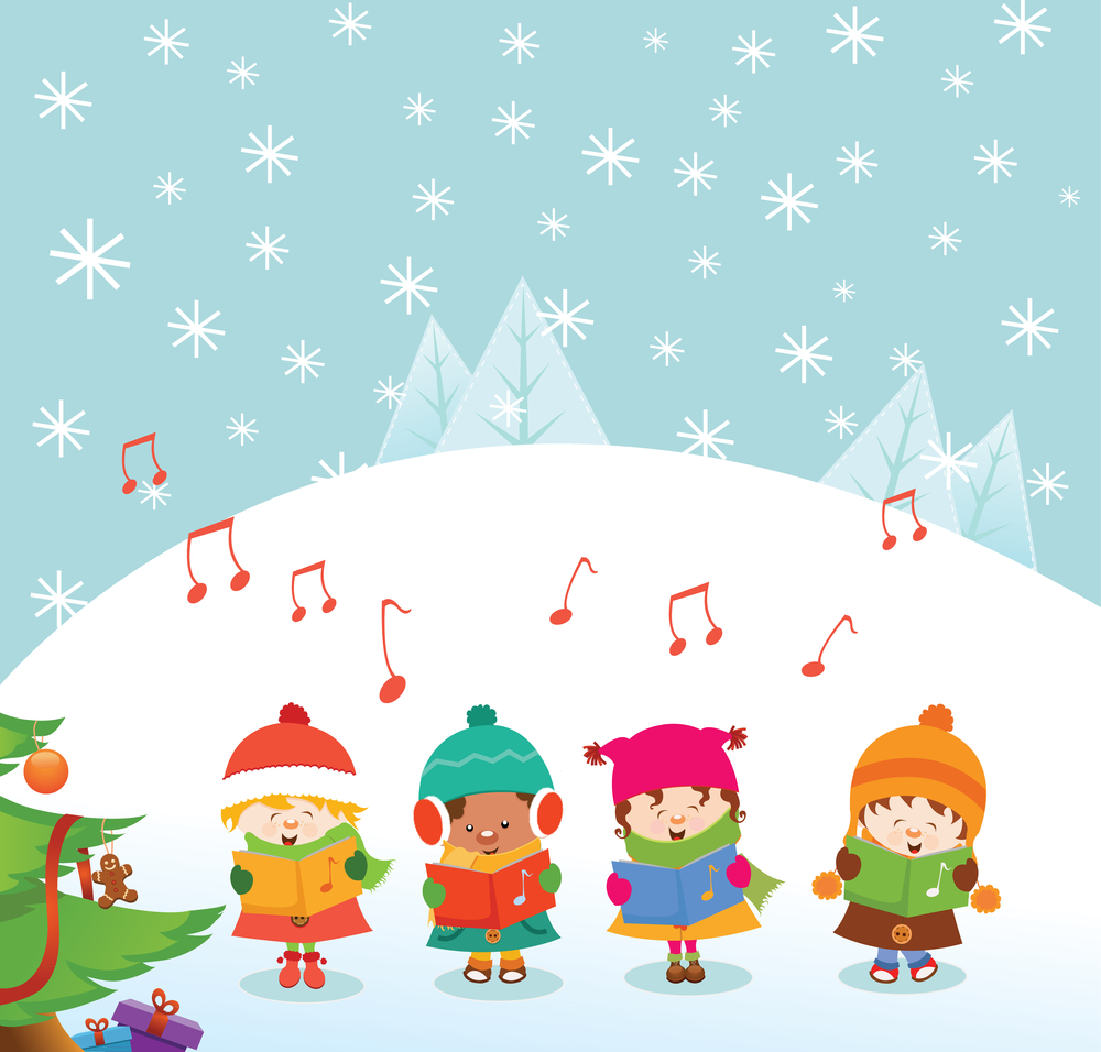 Image for Here They Come a-Caroling!.