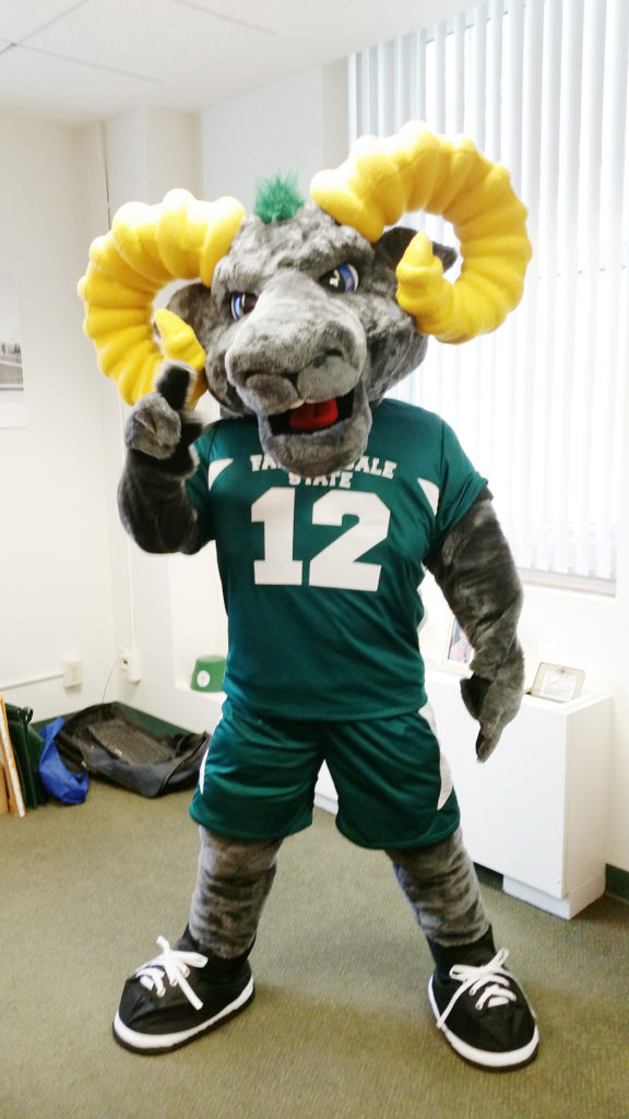 Image for Mascot Madness Round 3 for Ram-bo.