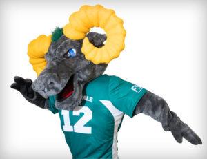 FSC mascot Ram-bo
