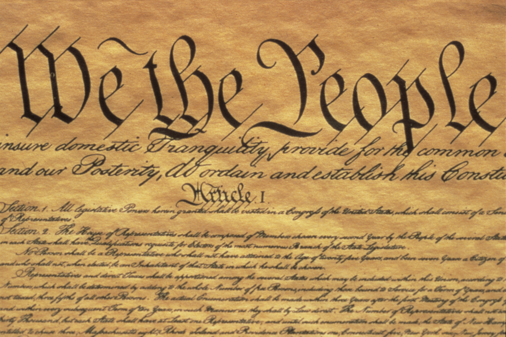 Image for Discussing Long Island and the Constitution.