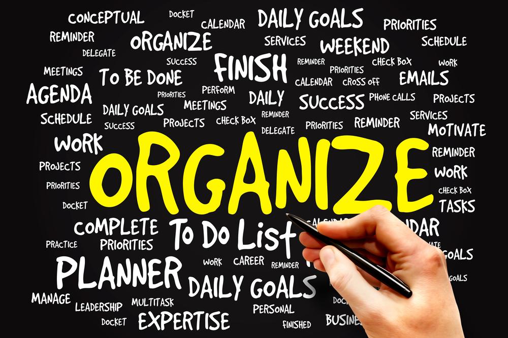 Image for Honing Workplace Organizational Skills.