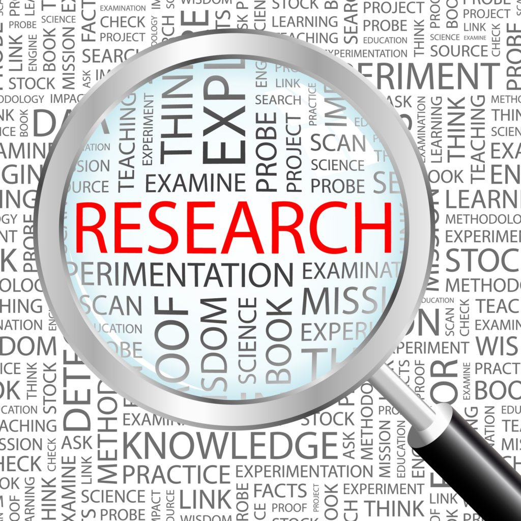 IMAGE OF sign that features the word Research