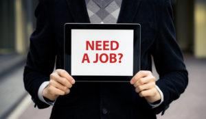 Need a Job sign