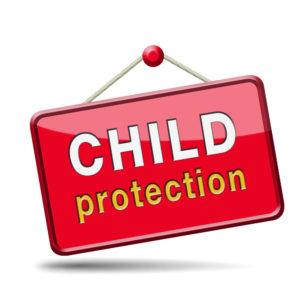 child protection sign