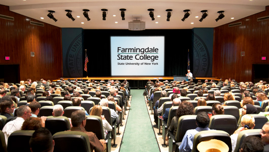 Convocation held at FSC's Little Theater
