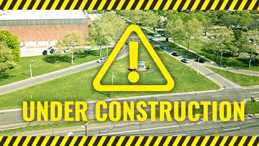 Under Construction warning sign