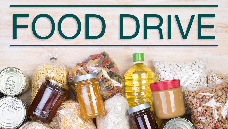 food drive food