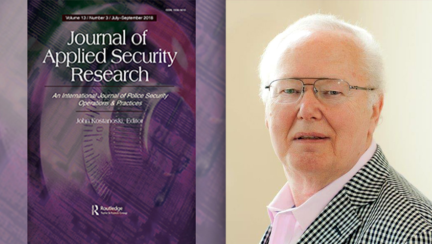 magazine cover and Professor John Kostanoski