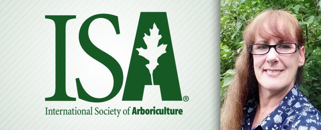 ISA logo and Alumna Fran Reidy '85