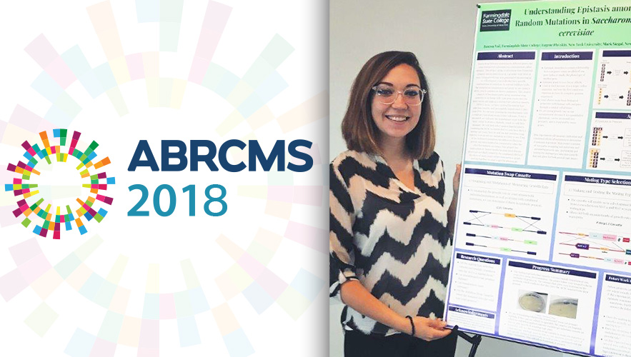 ABRCMS logo and Janessa Vail