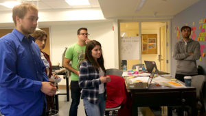 FSC students contemplate their project