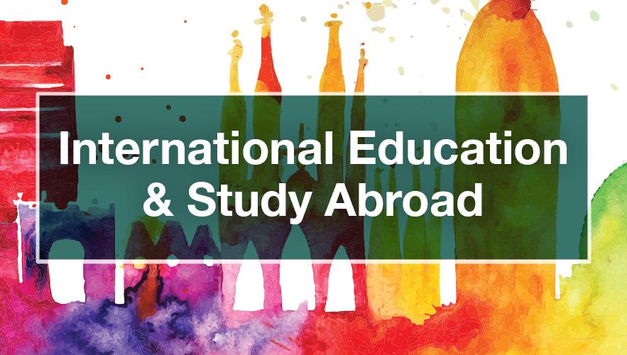 International Education/study abroad logo