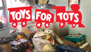 Toys for Tots toys collected