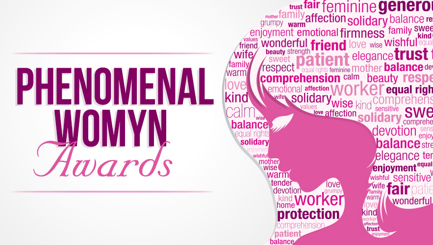 Phenomenal Womyn awards poster