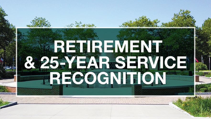 Retirement and 25-Year Service Recognition logo