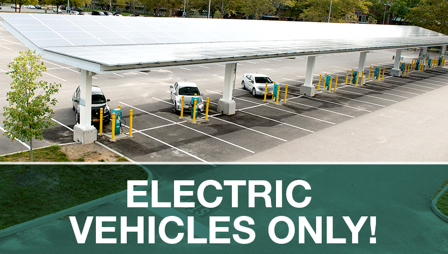 Campus Times » Solar Carport/Charging Station Reserved for