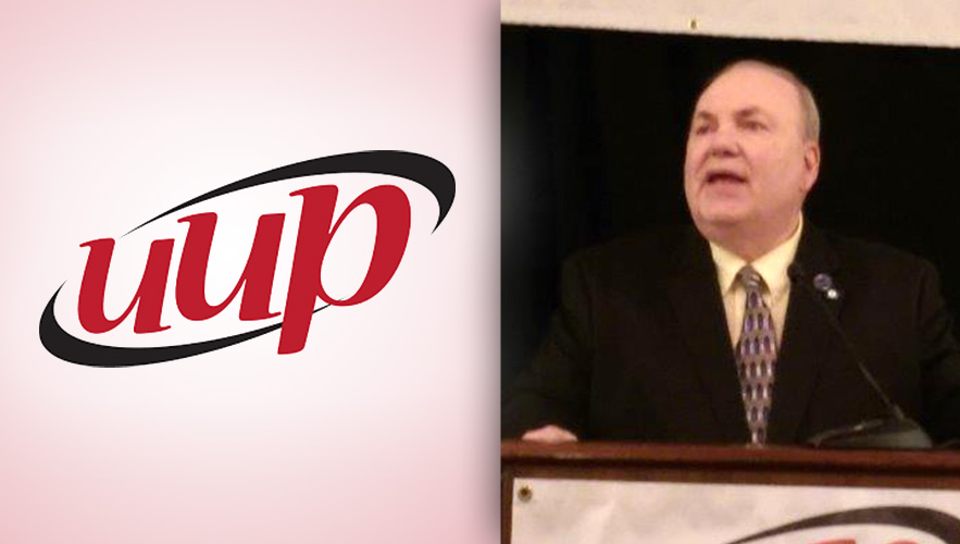 UUP logo and Dr. Daniel Marrone
