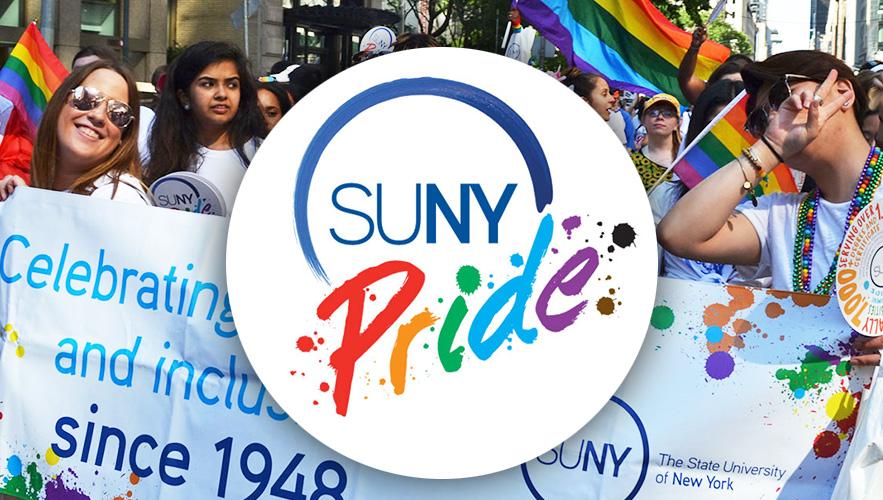 SUNY Pride logo