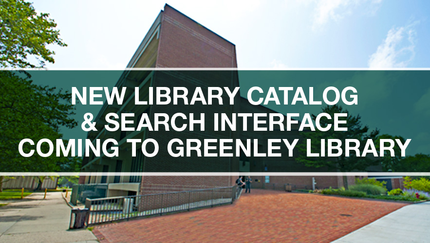 view of Greenley Library