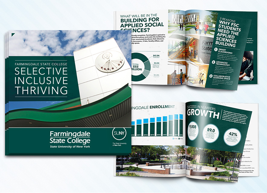 Selective, Inclusive, Thriving brochure