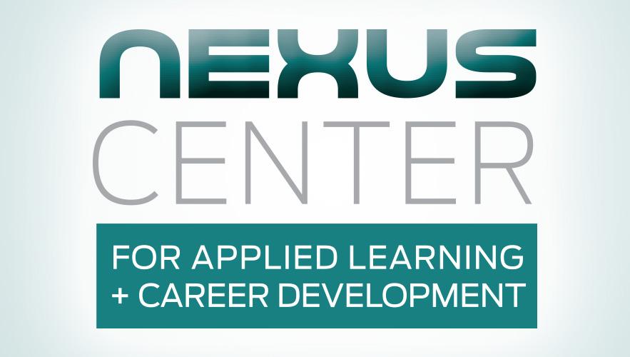 Nexus Center logo with words