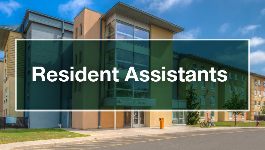 residence assistant banner