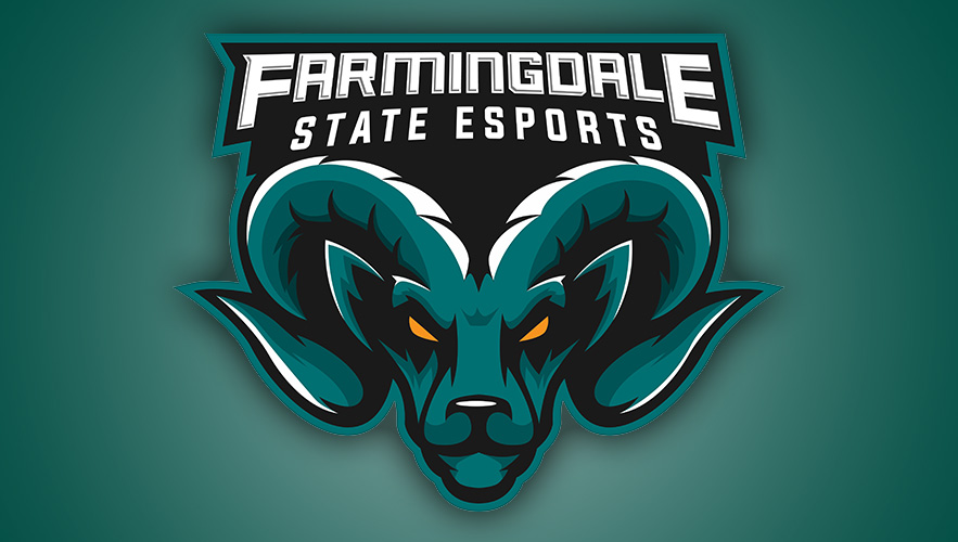 Farmingdale State Esports logo