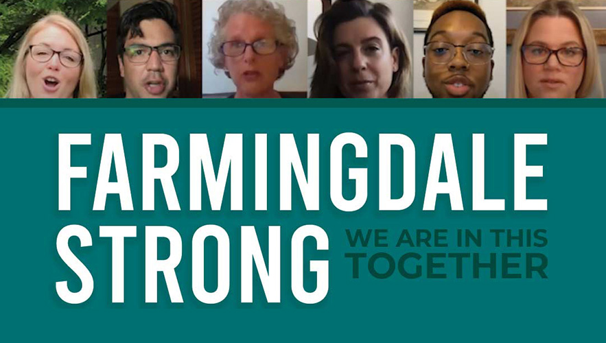 farmingdale strong logo