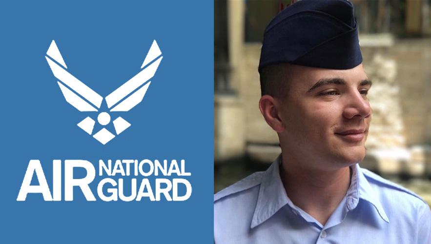 Air national guard logo and Christian Weiler