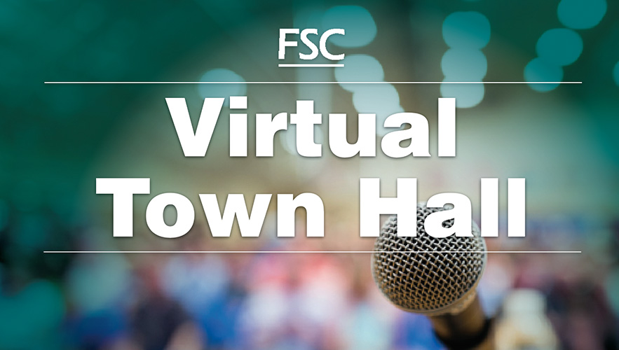 Image for Virtual Town Hall on January 27th.