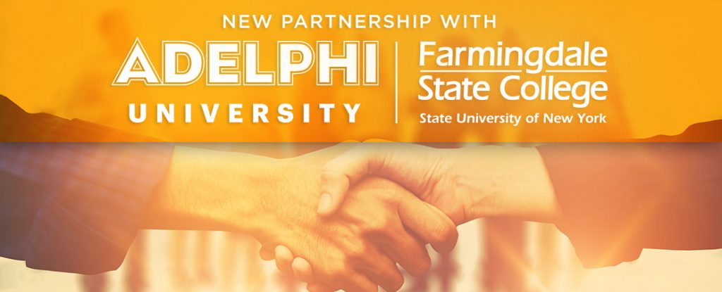 Image for FSC and Adelphi Launch Graduate Degree Partnership.