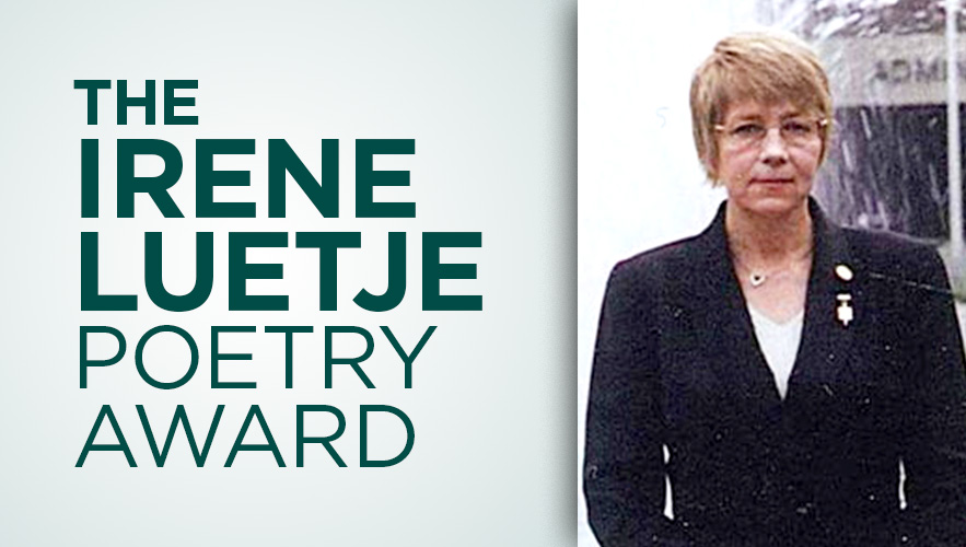 Image for Irene Luetje Poetry Award and Essay Contest – $400 Prize.