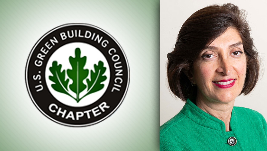 Image for Prof. Marj Issapour Appointed to U.S. Green Building Council-Long Island Chapter (USGBC-LI).