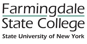 Farmingdale State College logo.