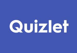 Quizlet logo.