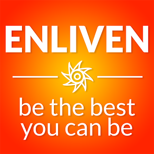"""Text. """"Enliven be the best you can be""""."""