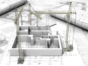 3 dimensional architectural drawing.