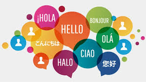 "Collage of the word ""Hello"" in different languages."
