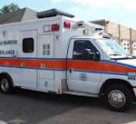 Ambulance truck.