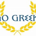 Go Greek logo john iacona