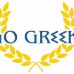 Go Greek logo john iacona