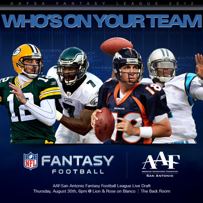 Image for Fantasy Football Weeks 8 and 9.