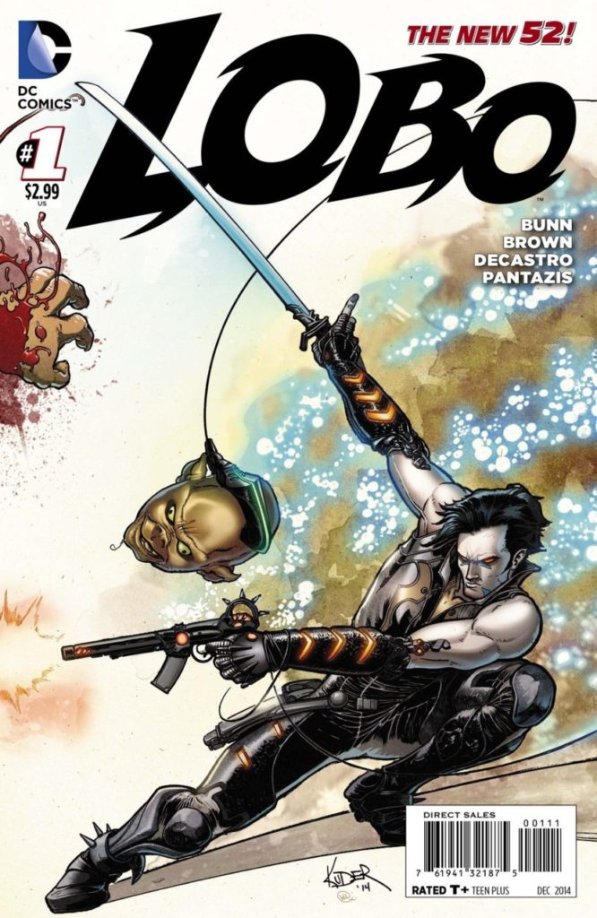 Image for Lobo Comic Review.