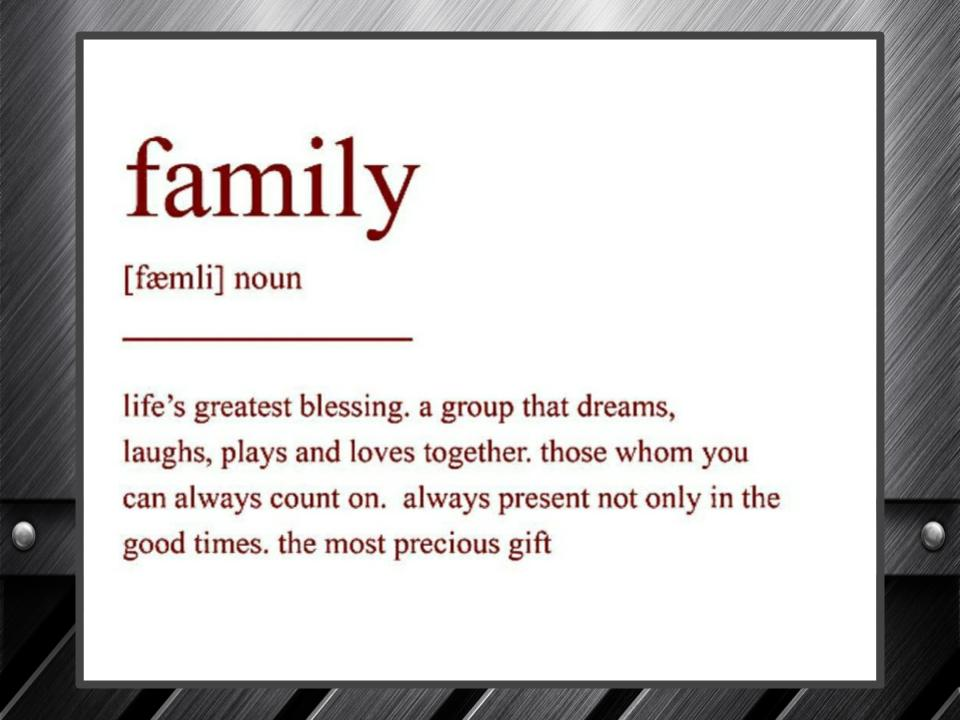 Image for Motivation #2: Finding Your Family.