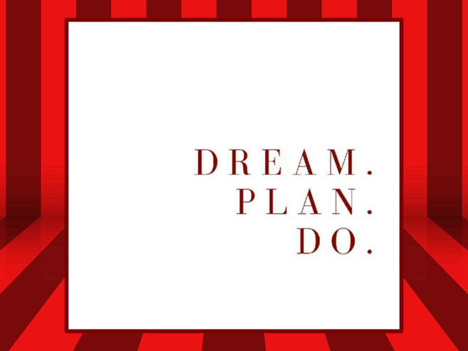 Image for Motivation #1: Plan Your Dream.