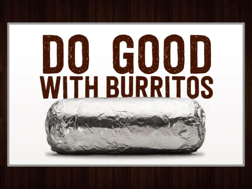 "Image for Support Lambda Pi Eta and ""Do Good With Burritos""!."
