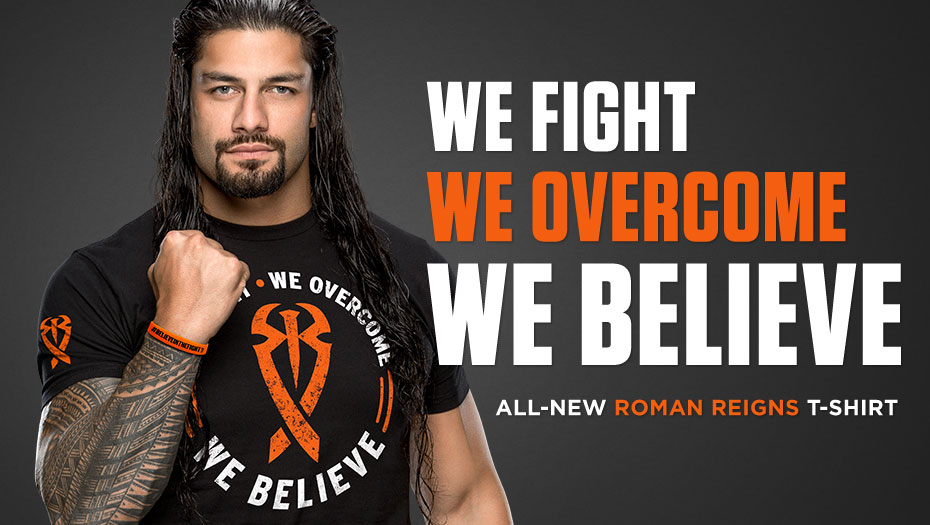 Image for Join Roman Reigns on his Quest to Cure Leukemia!.