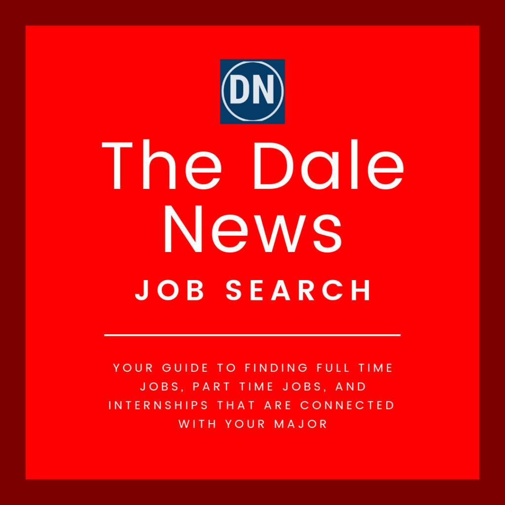 Image for The Dale News Job Search Inauguration.